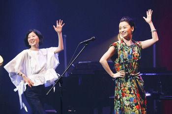 【檀れい】遊佐未森のコンサートにゲスト出演 「ミモちゃんに会うとうれしくてテンション上がる」