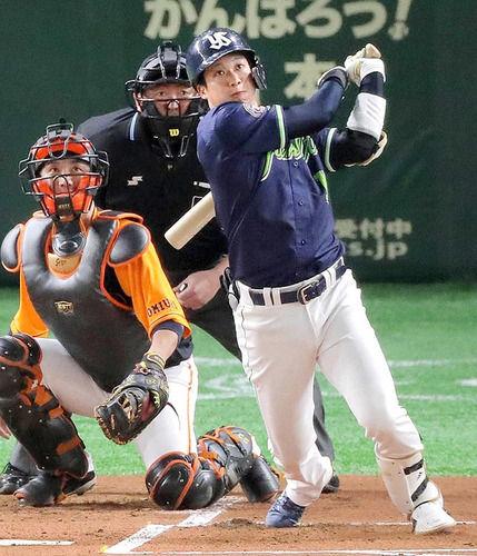 山田哲人 .302(53-16) 3本 11打点 4盗塁 OPS1.059