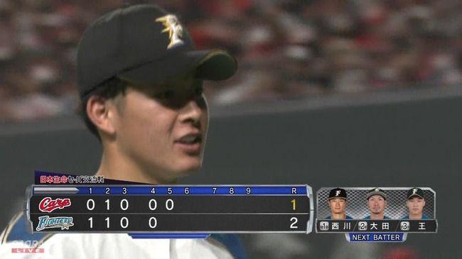 日本ハム吉田輝星、プロ初登板で5回1失点の好投!勝ち投手の権利獲得