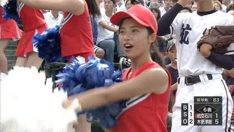 【高校野球・甲子園】日本航空石川のチアガールエロすぎwwwwwwwww