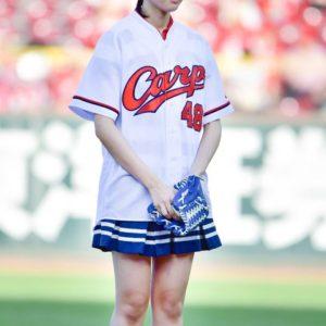 【STU48】瀧野由美子、ノーバンならずパンチラ始球式wwwwww