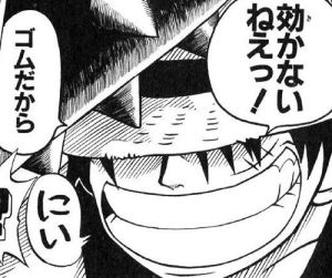 【衝撃画像】漫画『ワンピース』のルフィさん、とんでもないことをして失明してしまう… ※閲覧注意