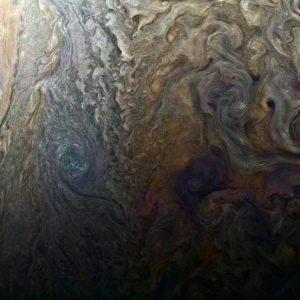 【宇宙】NASAが木星表面の画像公開!巨大なサイクロンや地底から湧くアンモニアの川などが確認できるらしい!!!