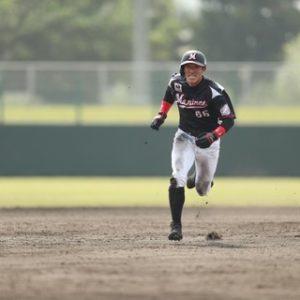 ロッテ岡田幸文、紅白戦で2安打2盗塁!