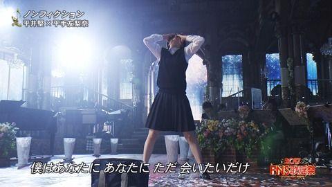 【FNS歌謡祭】平手友梨奈キレキレダンス→ネット反応がヤバい事にwwwww