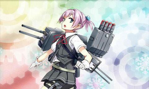 本日の進水式で、『26DD』を護衛艦『しらぬい』と名付け、進水!艦これ公式アイコンも…