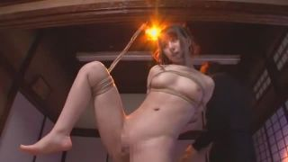 【新井エリー】人妻を緊縛して電マ責め