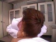 行列にできる鬱診療所の実態はエッチな女医さんが手コキとフェラでリラックスさせてくれるものでした~(森ななこ)