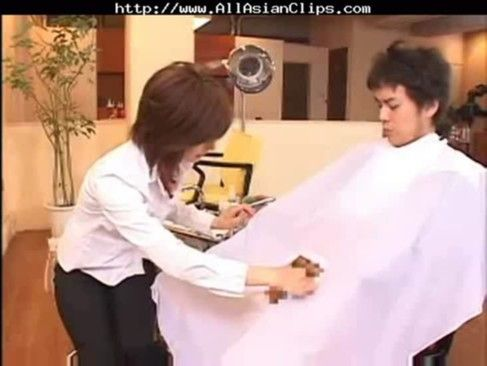 (笑)シュール感満載!ちん毛のお手入れまでしてくれる美容院wwww