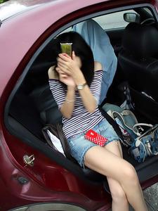 ドライブ中でのヌケるエロいシーン130425_19