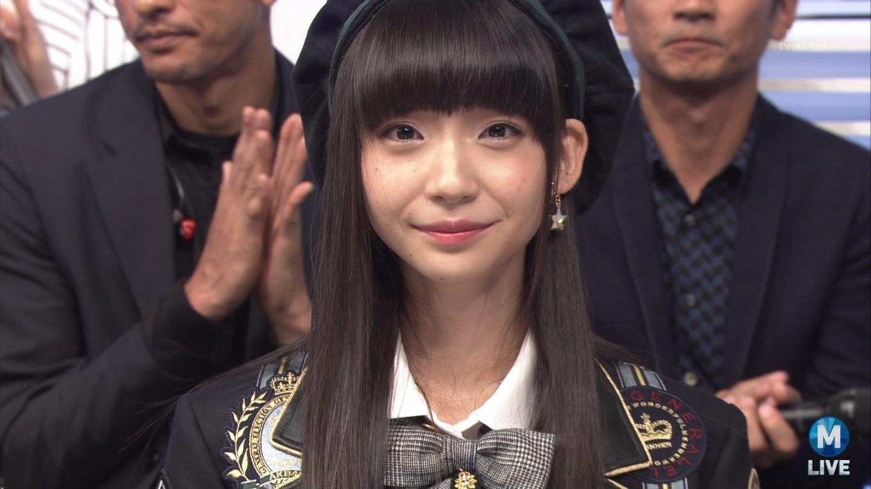 【エンタメ画像】Mステに出演したNGT48荻野由佳ちゃんが可愛すぎると話題に☆