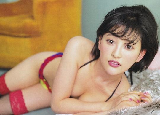 【エンタメ画像】HKT48兒玉遥ちゃんの最新ランジェリーグラビアが大人っぽくて情欲的すぎると話題!!!
