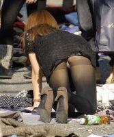 【パンチラ エロ画像】下着でしかないのに魅力がありすぎる素人さんのパンチラ!