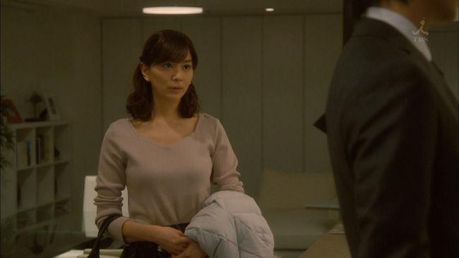 【画像】第9話の石橋杏奈、おっぱいがくっそたまらんww