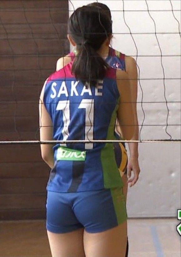 さまスポで女子バレー栄絵里香選手(27)のプリケツ