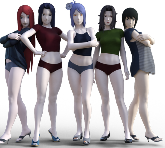 スカート5人2