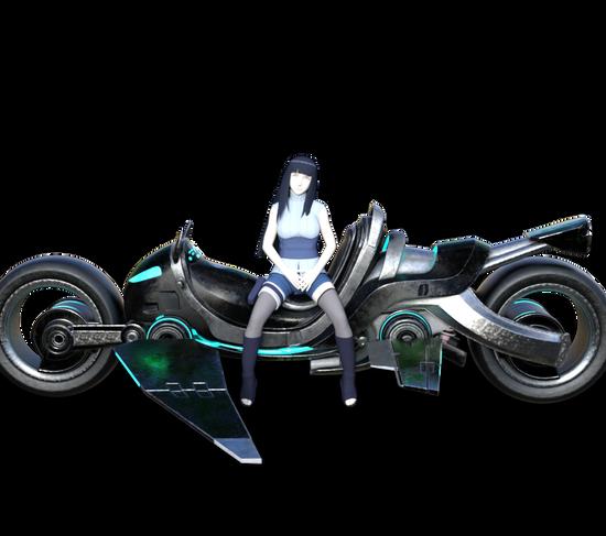 bike- hinata