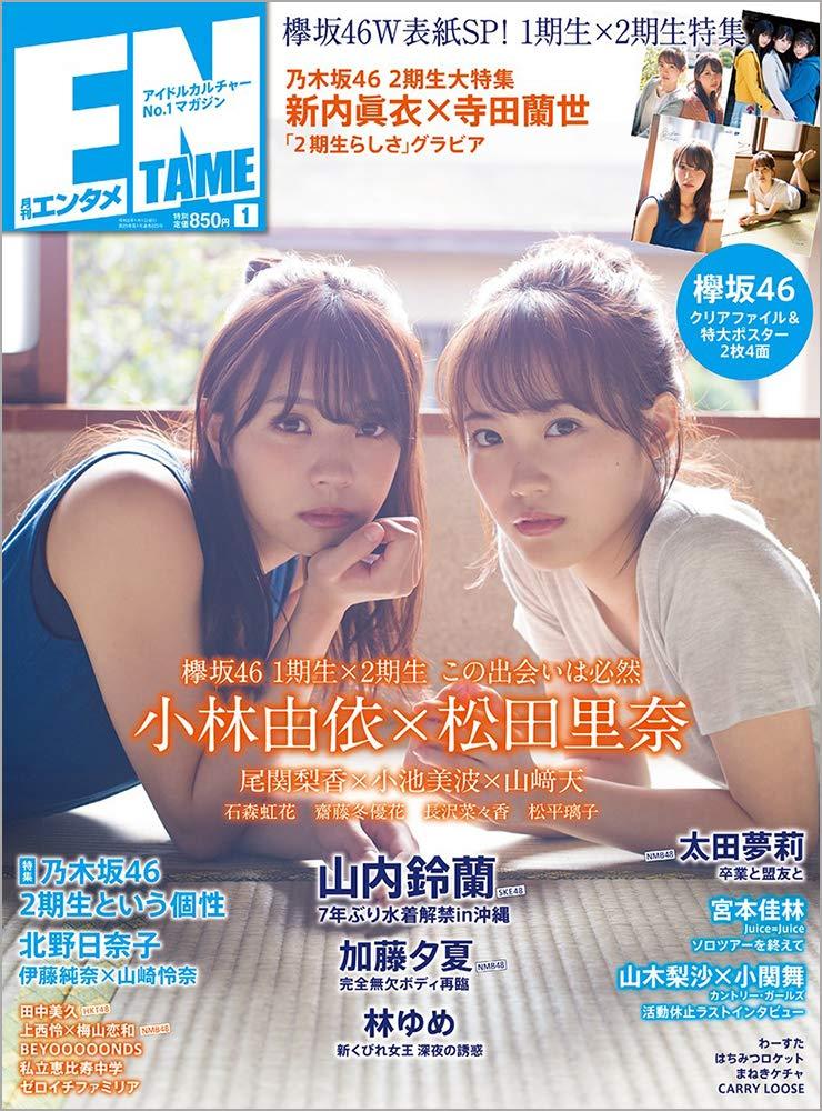 ENTAME 2020年01月号 欅坂46