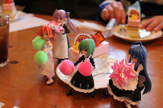 ゆーちゃんケーキとフィグマ