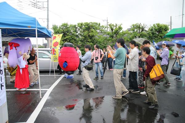 着ぐるみ「かがみん」撮影会 柊姉妹誕生日2014 7月7日