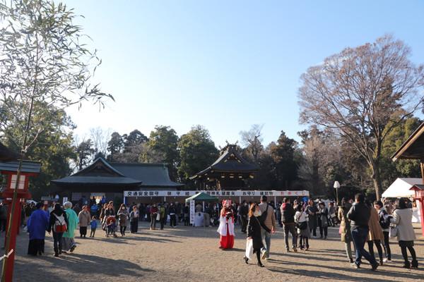 鷲宮神社初売り2017-26
