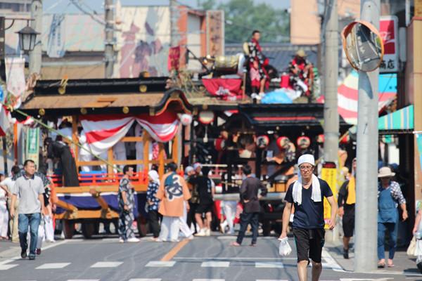 鷲宮八坂祭天王様2015-12
