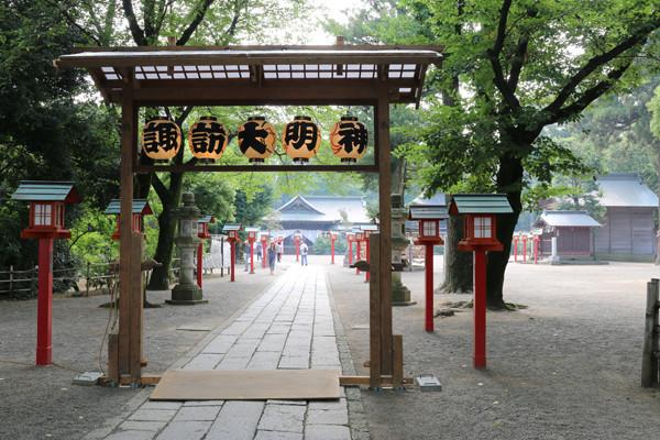 鷲宮神社 夏越祭01