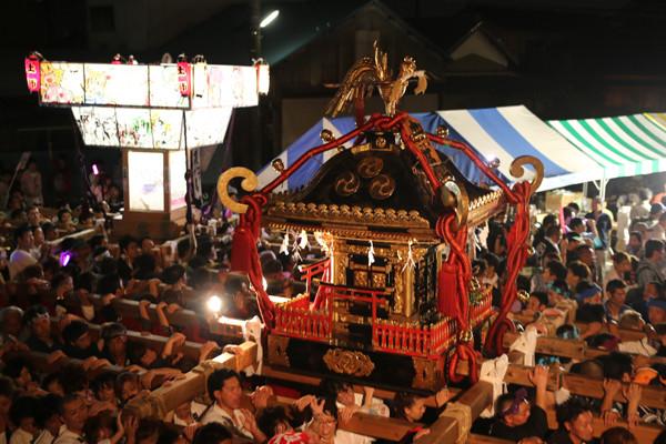 土師祭2014 夜の部終盤