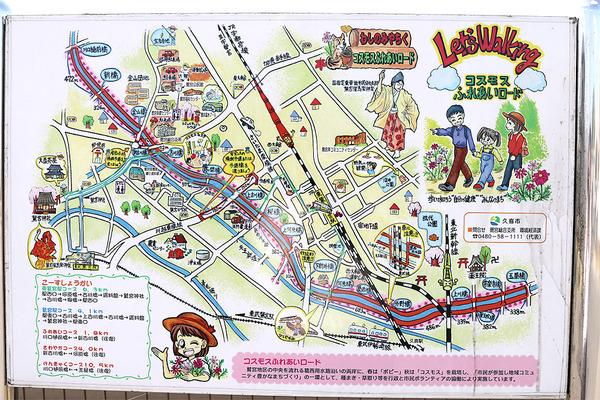 鷲宮コスモスロードマップ