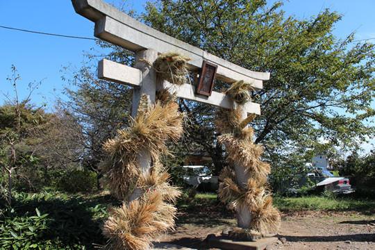 大輪神社の秋季祭「ワラの大蛇」13