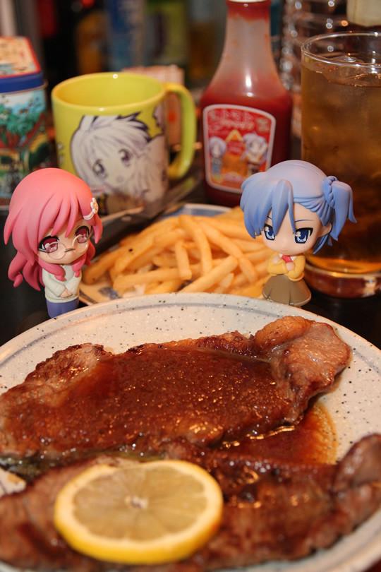 宮河家の空腹 放送開始記念 豪華ステーキ料理