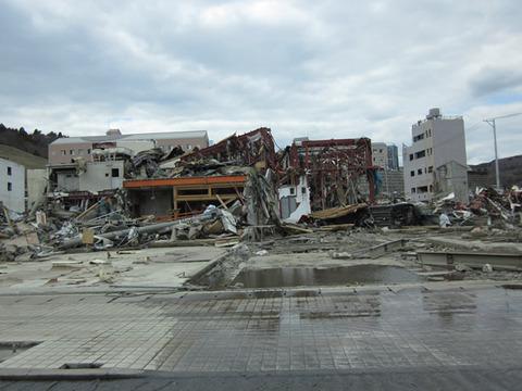 宮城県女川震災被害画像(11年4月3日)06