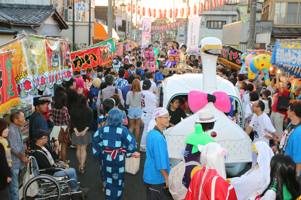 土師祭2014 オタクニカルパレードの様子2