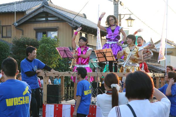 土師祭2014 オタクニカルパレードと金管バンド