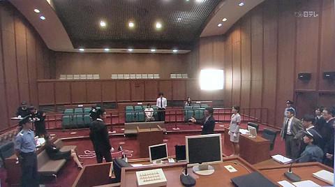 議場(裁判所)シーン2