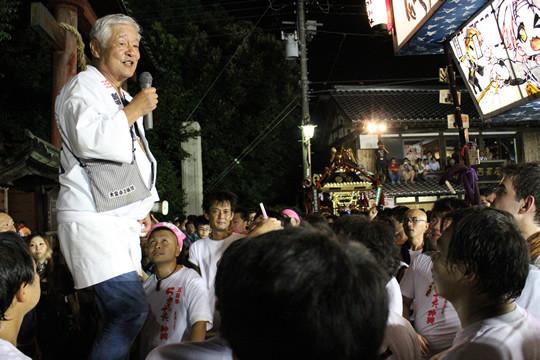 成田会長の挨拶
