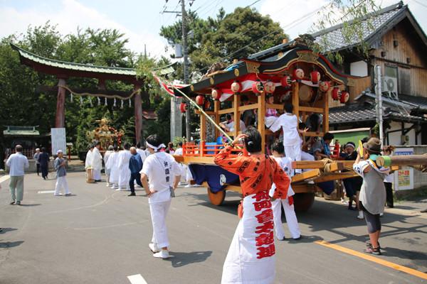 鷲宮の八坂祭り「天王様」2014_01