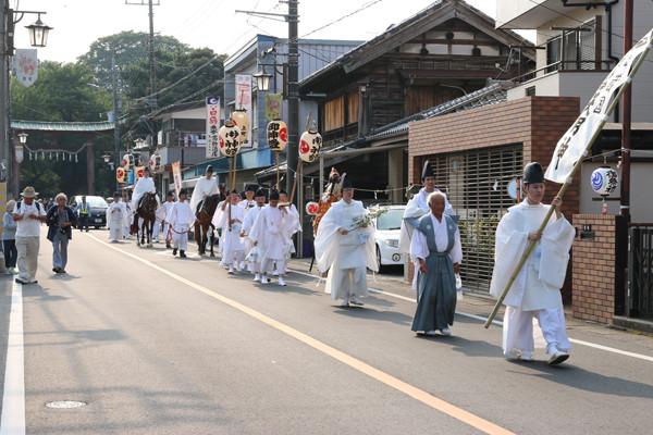 鷲宮神社 夏越祭06