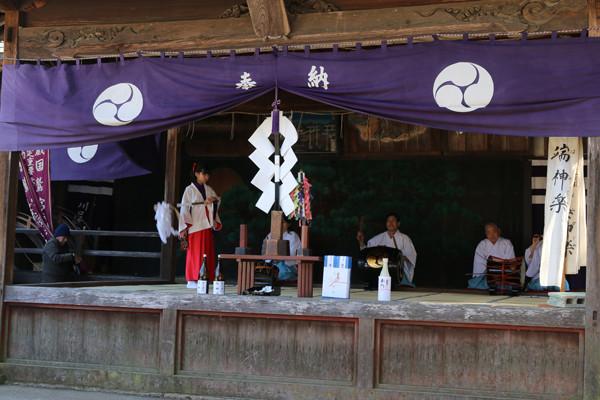 鷲宮神社 年越祭 端神楽