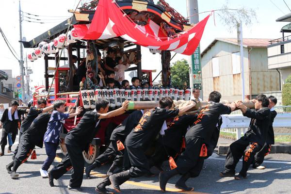 鷲宮八坂祭天王様2015-9