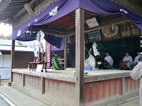 鷲宮神社催馬楽神楽