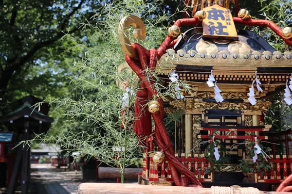 鷲宮八坂祭天王様2015-1