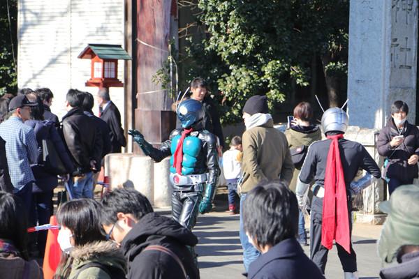 鷲宮神社初売り2017-9