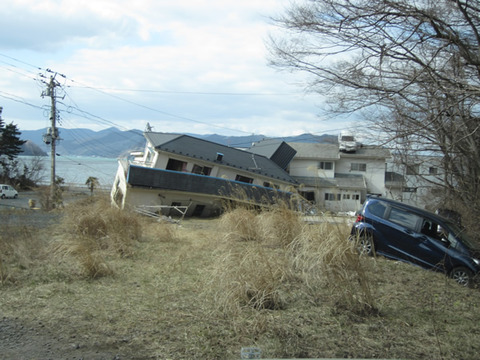 宮城県女川震災被害画像(11年4月3日)16