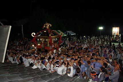21:05 土師祭のクライマックス