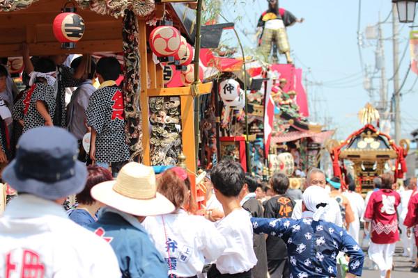 鷲宮の八坂祭り「天王様」2014_03