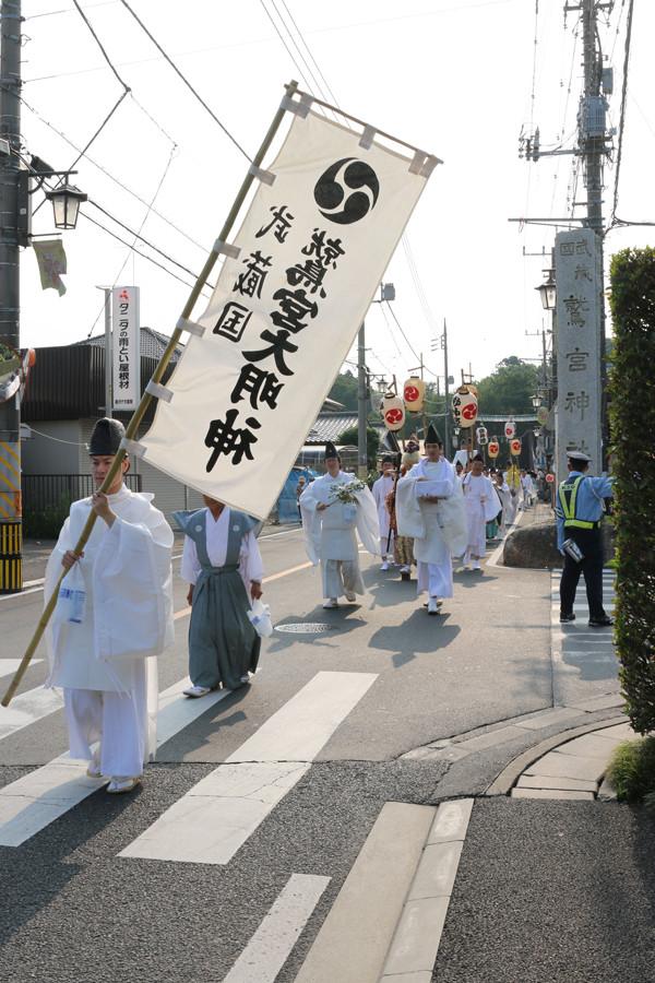 鷲宮神社 夏越祭07