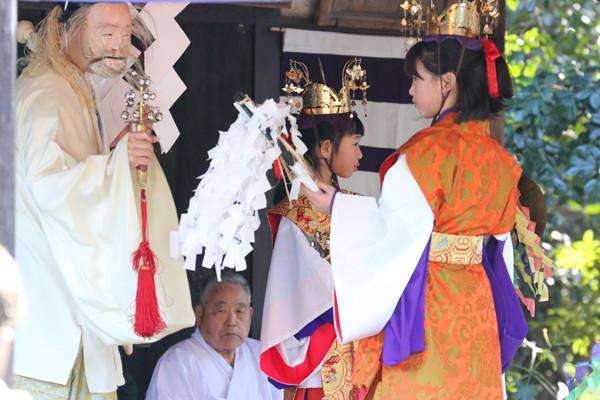 鷲宮神社 年越祭 神楽22