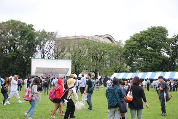 土師祭2014 恥アソビ会場