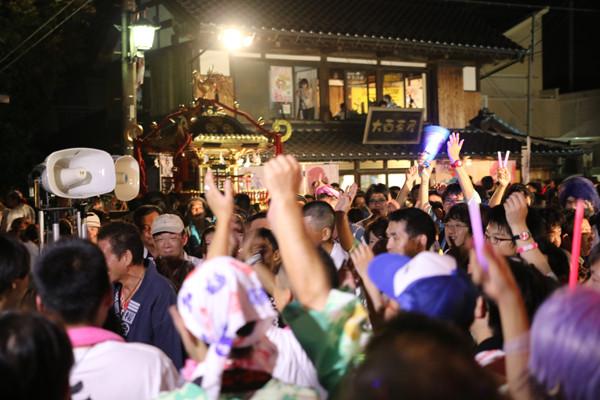 土師祭2014 土師祭終了時の盛り上がり